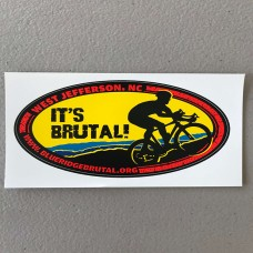 Blue Ridge Brutal Sticker