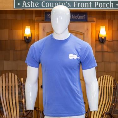 Upright Fiddle Logo Short Sleeve T-Shirt