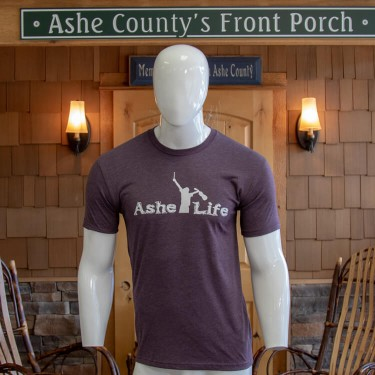 Ashe Life (Fiddle Player) Logo Short Sleeve T-Shirt