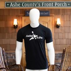 Ashe Life (Kayak) Logo Short Sleeve T-Shirt