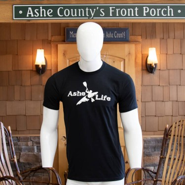 Ashe Life (Kayak) Logo Short Sleeve T-Shirt