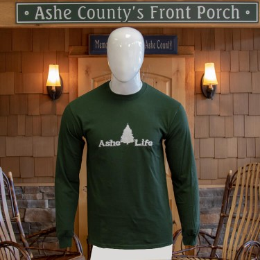 Ashe Life (Christmas Tree) Logo Long Sleeve T-Shirt