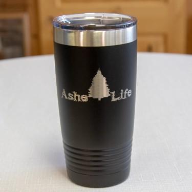 Ashe Life (Christmas Tree) Logo Tumbler