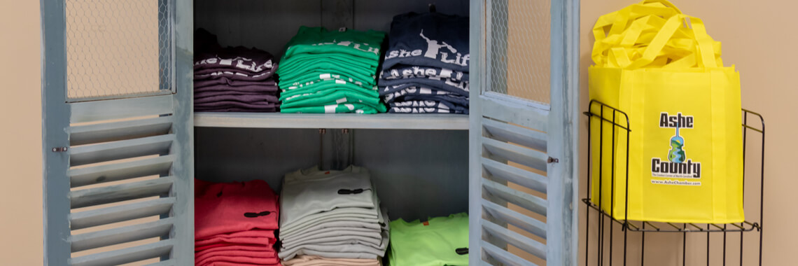 A Variety of T-Shirts